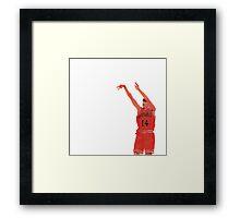 Mitsui - Slam Dunk Framed Print