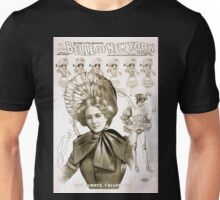 Performing Arts Posters Geo W Lederers Belle of New York the rage of two continents book by Hugh Morton music by Gustav Kerker 1236 Unisex T-Shirt