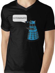 Dalek - Exterminate! Mens V-Neck T-Shirt