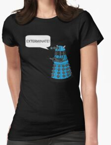 Dalek - Exterminate! Womens Fitted T-Shirt