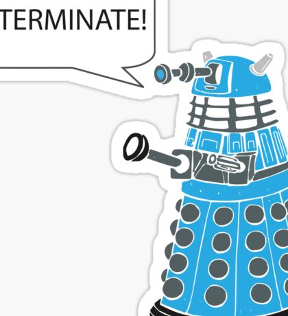 Dalek - Exterminate! Sticker