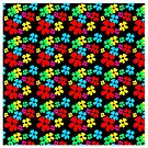 Flower Power, iPhone case, Samsung Case, iPad Case, Pillows, Totes, Duvet Covers by Linda Allan
