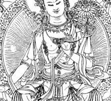 Buddha. Sticker