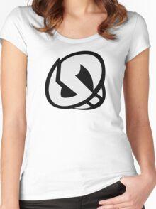 Team Skull (HQ) Sun Moon Women's Fitted Scoop T-Shirt