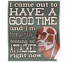 Attack on Titan - Feeling so Attacked Poster