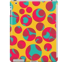 Psychedelic cheese iPad Case/Skin