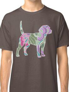 Floral Garden Beagle Classic T-Shirt