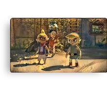 Zelda and friends Canvas Print