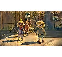 Zelda and friends Photographic Print