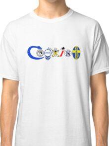 Coexist, 2nd amendment, guns, love Classic T-Shirt