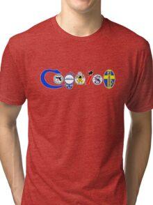 Coexist, 2nd amendment, guns, love Tri-blend T-Shirt