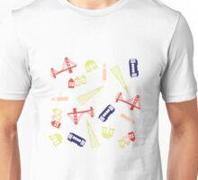San Francisco Bright Pattern Unisex T-Shirt
