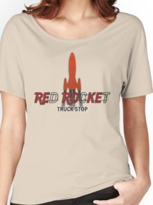 Red Rocket Truck Stop Women's Relaxed Fit T-Shirt