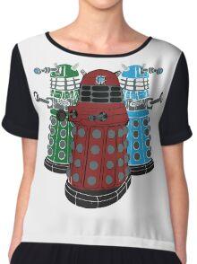 Daleks Chiffon Top