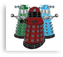Daleks Canvas Print