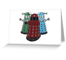 Daleks Greeting Card