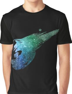Final Fantasy VII logo universe Graphic T-Shirt