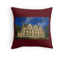 The Unfinished Mansion Throw Pillow