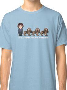 A Three-Pooch Problem Classic T-Shirt