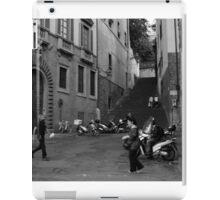 Street Scene, Oltrarno, Florence iPad Case/Skin