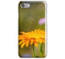 soft focus marigold iPhone Case/Skin