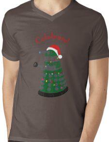 Dalek - Celebrate! Mens V-Neck T-Shirt