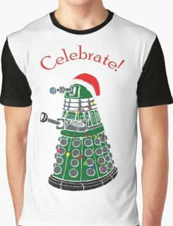 Dalek - Celebrate! Graphic T-Shirt
