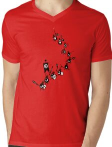 Patapon - Cascading Army Mens V-Neck T-Shirt