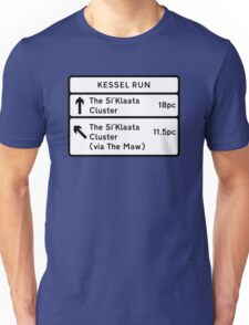Kessel Run Smugglers Sign Unisex T-Shirt