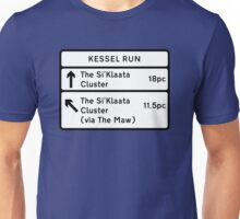 Kessel Run Smugglers Sign Unisex T-Shirt