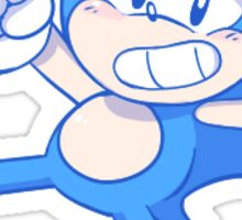 Classic Sonic Sticker Sticker