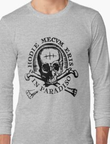 """Uncharted """"Hodie Mecvm Eris In Paradiso"""" Long Sleeve T-Shirt"""