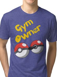 Pokemon Gym Owner Tri-blend T-Shirt