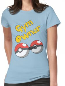 Pokemon Gym Owner Womens Fitted T-Shirt