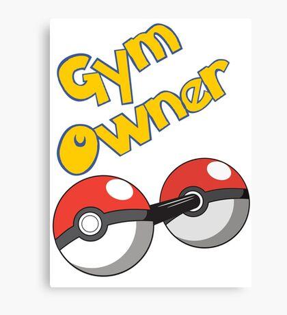 Pokemon Gym Owner Canvas Print