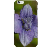 vilet blue larkspur iPhone Case/Skin