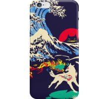 The Great Wave off Oni Island iPhone Case/Skin