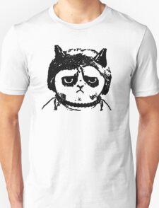 Grumpy Merkel Cat T-Shirt