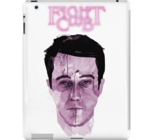 Fight Club Watercolor iPad Case/Skin