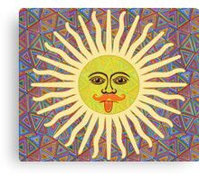 Sun Man Lads Canvas Print