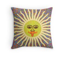 Sun Man Lads Throw Pillow