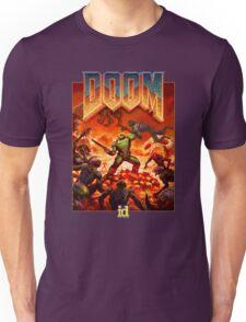 DOOM 4 (2016) Reboot Retro Box Art Unisex T-Shirt