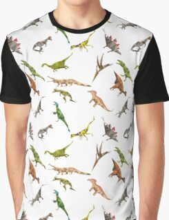 The ultimate dinosaur pattern of all time Graphic T-Shirt