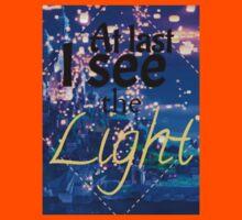 Tangled - I See The Light Kids Tee