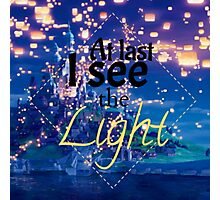 Tangled - I See The Light Photographic Print