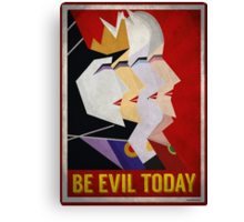 Be Evil Today Canvas Print