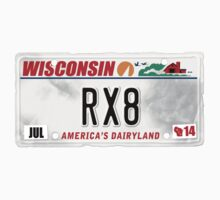 License Plate - RX8 by TswizzleEG