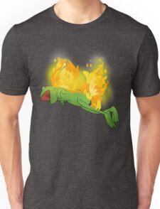 he yells Unisex T-Shirt