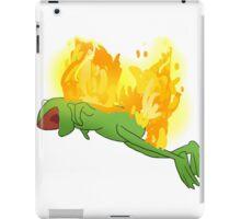 he yells iPad Case/Skin