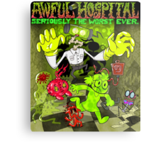 Awful Hospital: Seriously the Worst Ever Metal Print